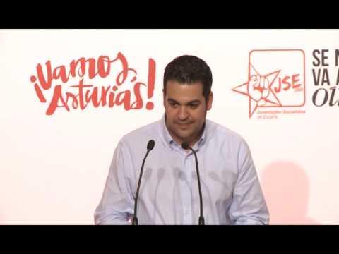 Intervención Nino Torre, Apertura Foro Municipal y Autonómico JSE