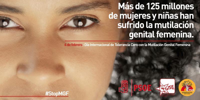 Manifiesto por el Día Internacional de Tolerancia Cero con la Mutilación Genital Femenina