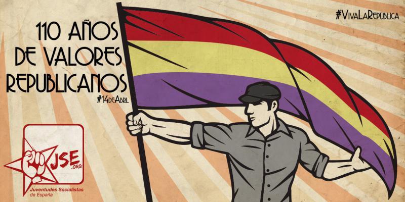 Juventudes Socialistas celebra en el Día de la República su 110º aniversario