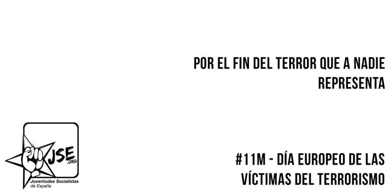Campaña por el 11M, Día Europeo de las Víctimas del Terrorismo