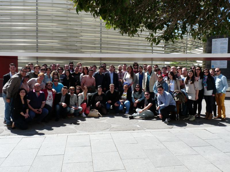 Jornadas Acción Electoral, Badajoz 26, 27 de Abril