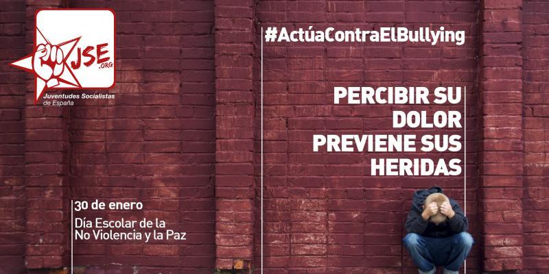 """JSE lanza la campaña """"Percibir su dolor previene sus heridas. Actúa contra el bullying"""""""