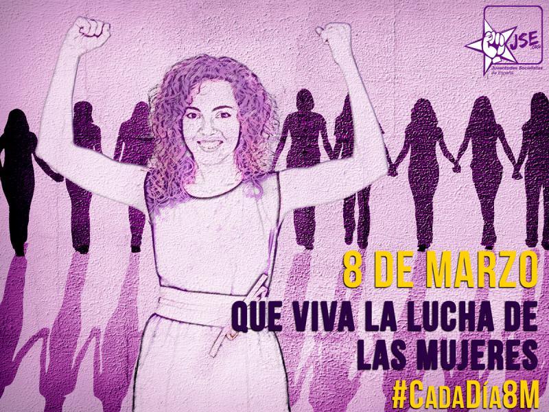 """JSE: """"Para las mujeres, todos los días son 8 de marzo, todos los días pelean por sus derechos"""""""