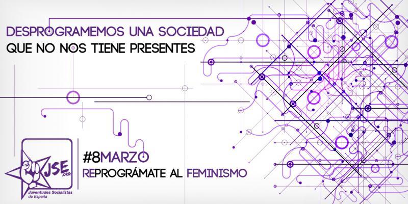 Juventudes Socialistas lanza una campaña para 'reprogramar' a la juventud al feminismo