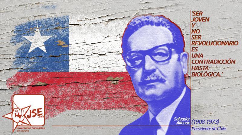 Juventudes Socialistas recuerda a Salvador Allende en el aniversario de su fallecimiento