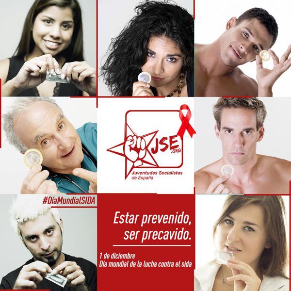 """JSE lanza la campaña """"Estar prevenido, ser precavido"""" por el Día Mundial de la Lucha contra el Sida"""