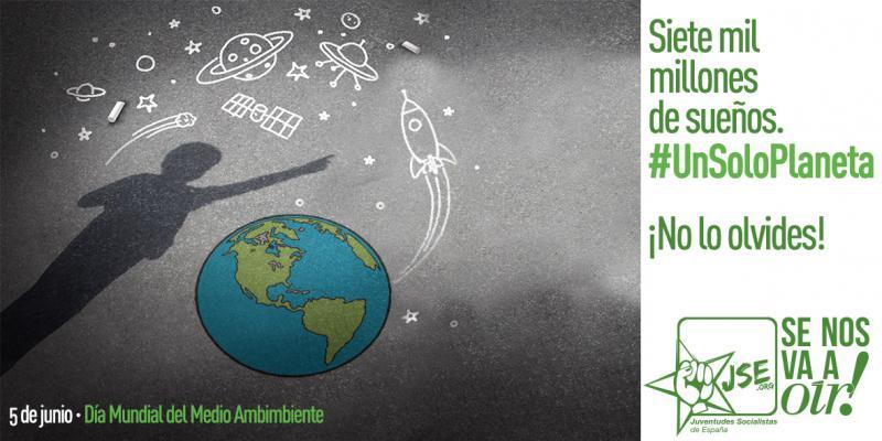 """Juventudes Socialistas de España: """"Necesitamos un pacto intergeneracional para ayudar al planeta, sólo tenemos uno"""""""