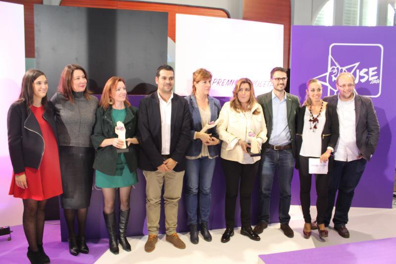 JSE celebra los Premios Violeta 2015 en Huelva