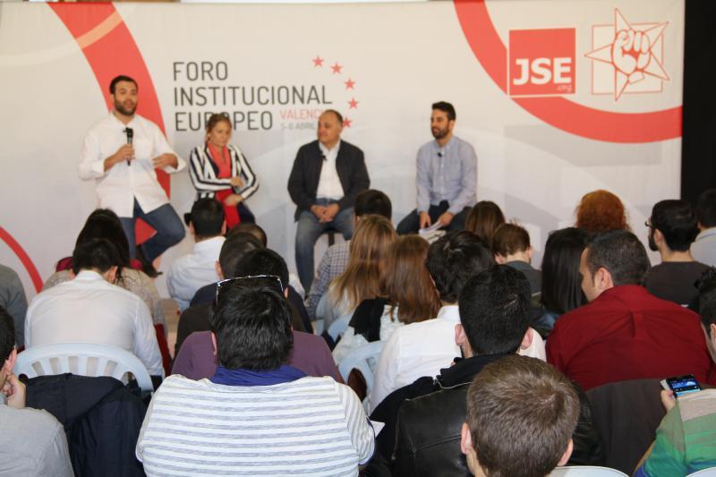 """JSE: """"Una Europa que verdaderamente represente a la juventud vendrá de la mano del socialismo"""""""