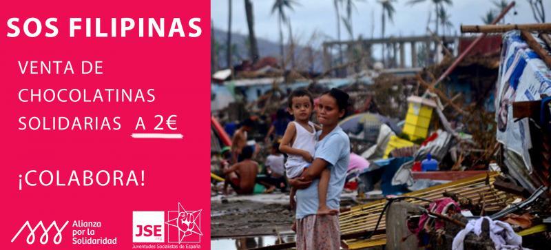 CAMPAÑA SOS FILIPINAS CON ALIANZA POR LA SOLIDARIDAD