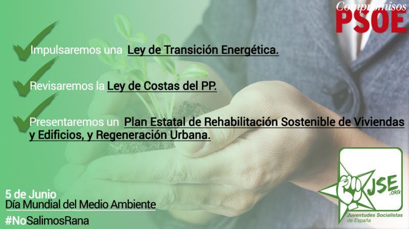 Férreo Compromiso del PSOE con el Medio Ambiente