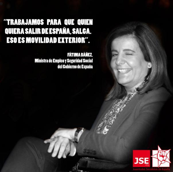 """JSE: """"Es inadmisible la conducta impasible de Báñez ante el desempleo y el éxodo de nuestros jóvenes"""""""