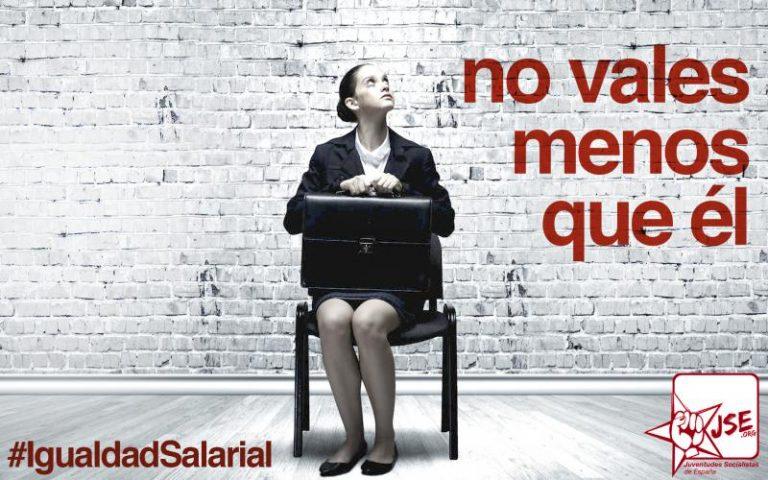 """JSE: """"No atacar la brecha salarial es menospreciar a las mujeres por serlo, es machismo"""""""