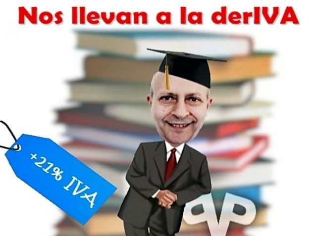 JSE lamenta la hipocresía de Nuevas Generaciones del PP por las protestas contra el Ministro Wert