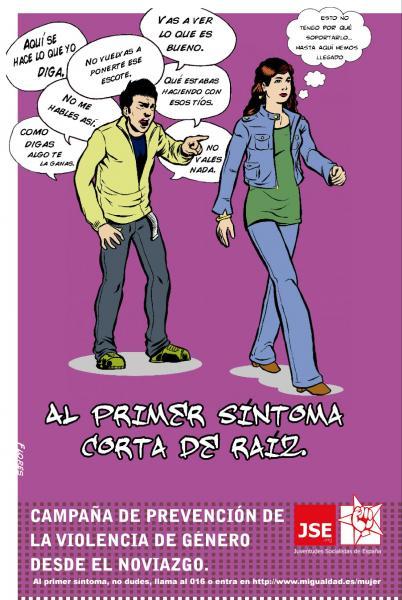 Campaña Prevención de la violencia de género durante el noviazgo