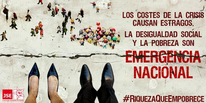 #RiquezaQueEmpobrece / Campaña por el Día Internacional para la Erradicación de la Pobreza