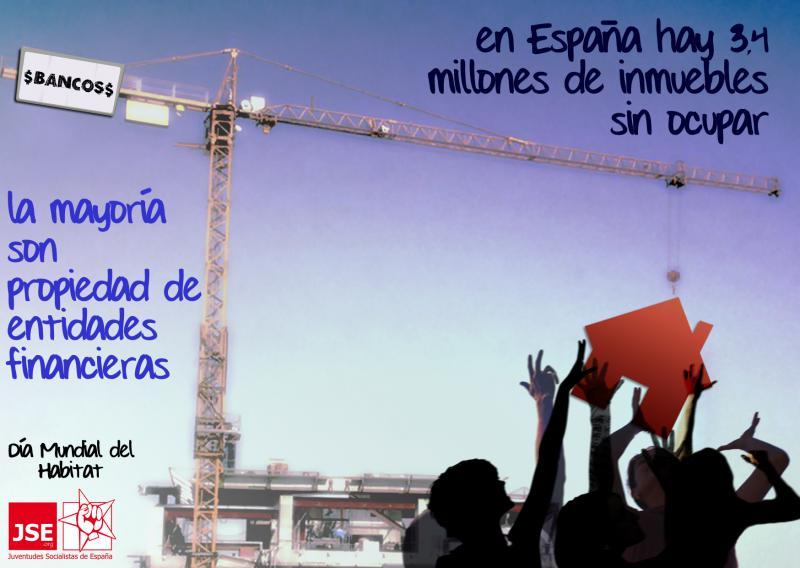 Campaña #ViviendaComoDerecho por el día Mundial del Hábitat