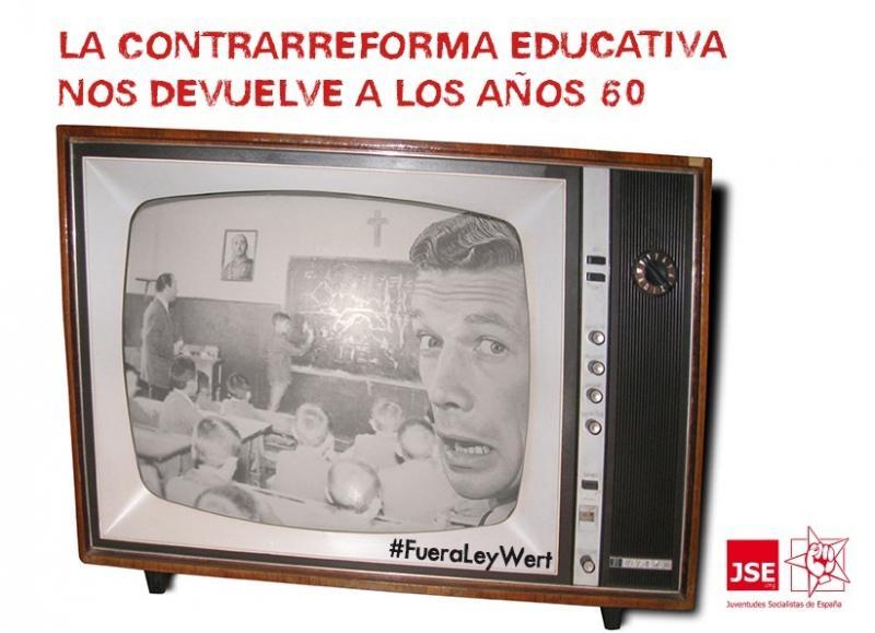 JSE pide la retirada inmediata de la Ley Wert por atentar contra la equidad educativa