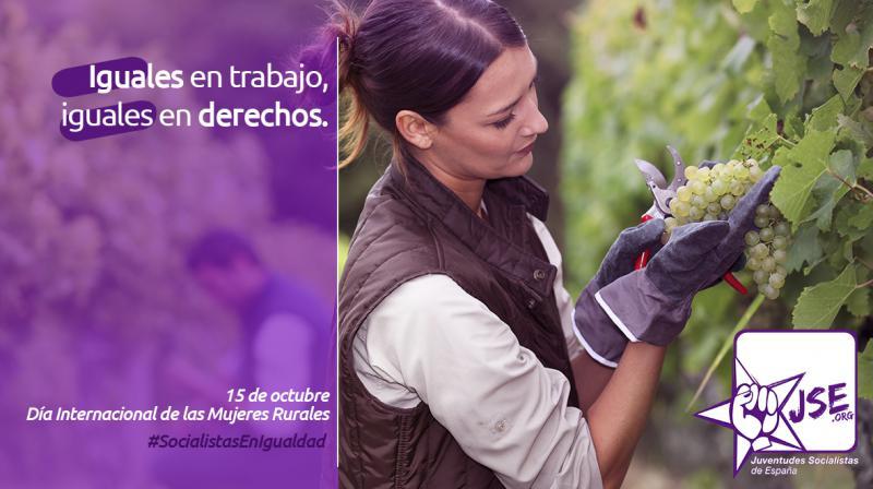 Juventudes Socialistas destaca el papel de las mujeres y la juventud como piezas clave de la supervivencia del mundo rural.