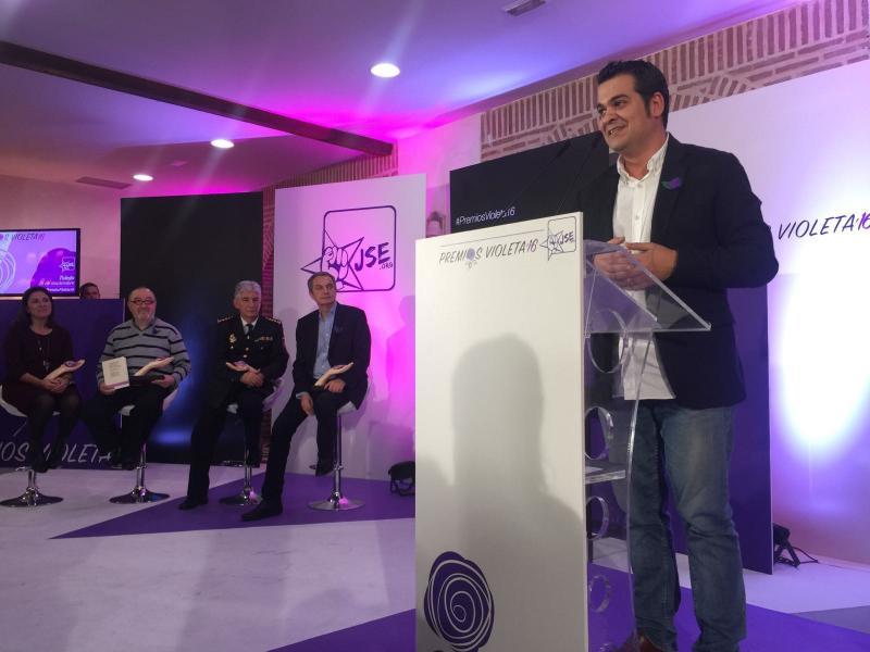 Juventudes Socialistas de España celebra la octava edición de sus Premios Violeta.