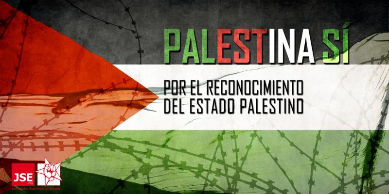 JSE pide al Gobierno de Rajoy el reconocimiento de Palestina como Estado