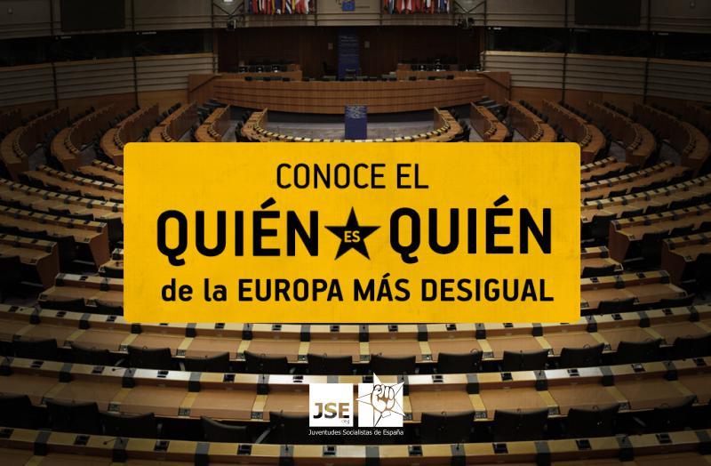 Juventudes Socialistas de España  lanza el site #QUIENesQUIEN