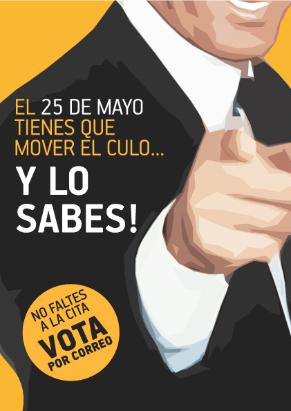 """VOTA POR CORREO EN LAS PRí""""XIMAS ELECCIONES EUROPEAS"""