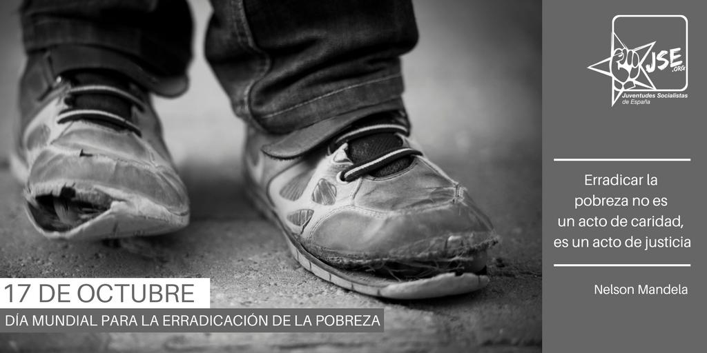 Juventudes Socialistas exige la creación de un Plan Integral contra la Pobreza