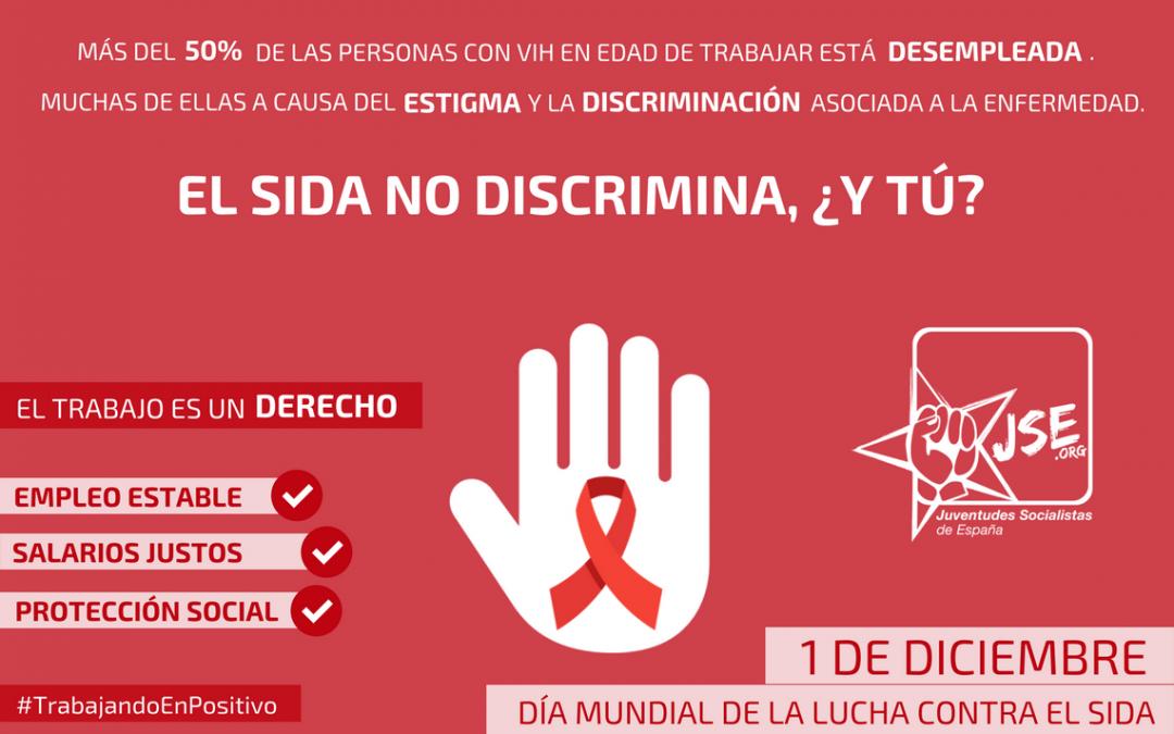 JSE exige acabar con la estigmatización que sufren las personas portadoras de VIH en el empleo