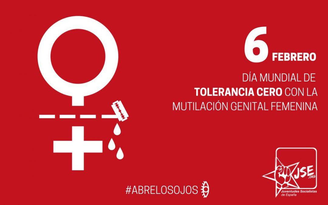 Juventudes Socialistas insta al Gobierno a adoptar un protocolo para prevenir la práctica de la MGS en España.