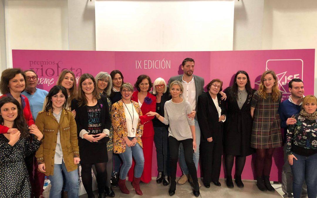 Juventudes Socialistas de España celebra la novena edición de los Premios Violeta-Carme Chacón.