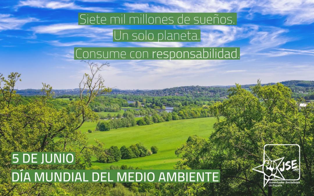 Juventudes Socialistas pide acabar con el inmovilismo medioambiental de nuestro país.