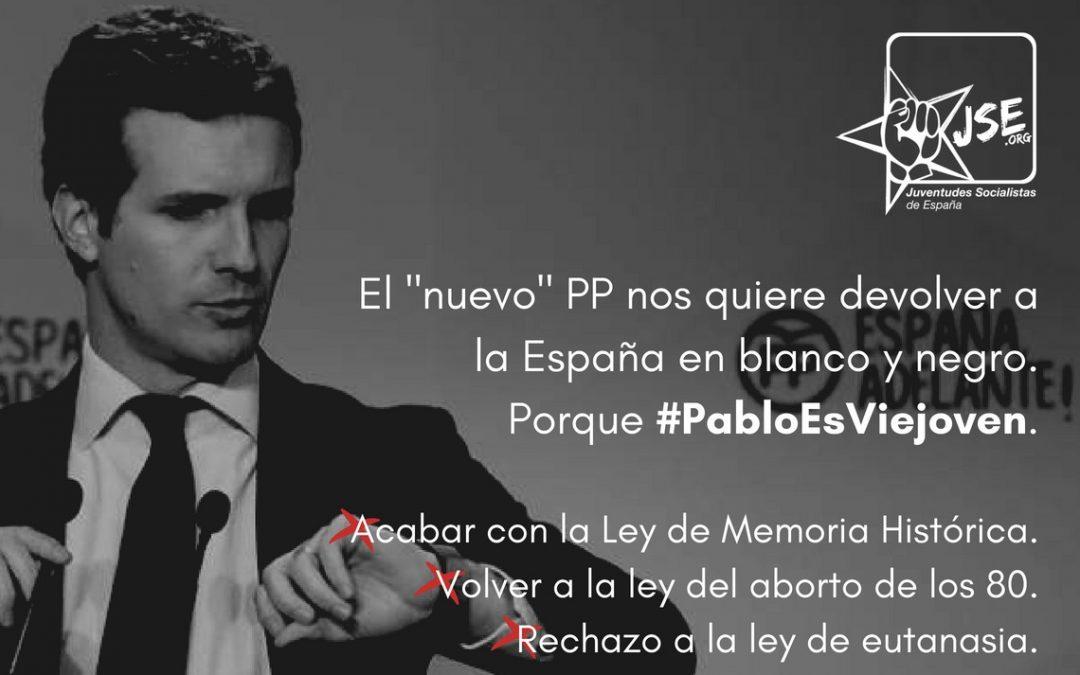 JSE considera una regresión la elección de Pablo Casado como presidente del PP.