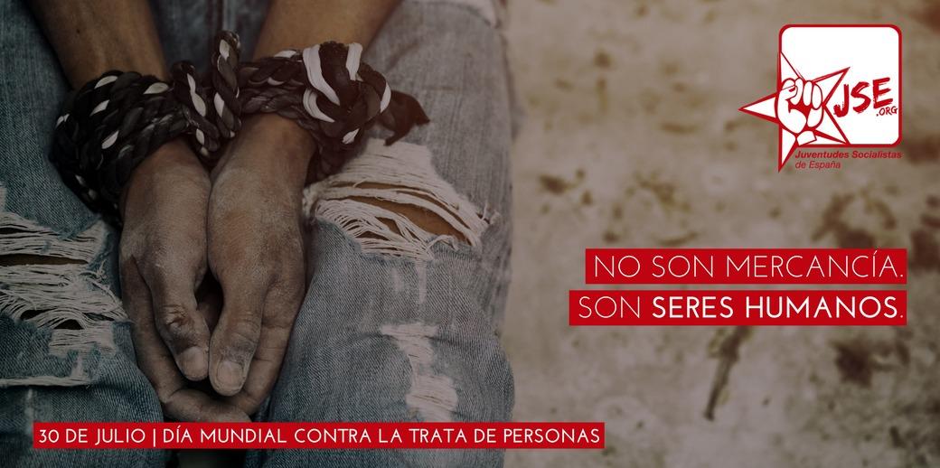JSE recuerda que la trata de personas sigue siendo un problema contra el que hay que luchar.