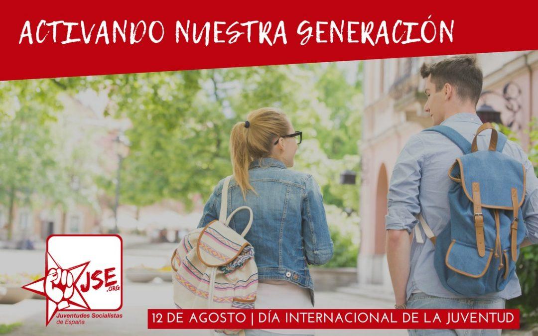 En el Día Internacional de la Juventud, JSE reivindica el compromiso del Gobierno con las políticas de juventud.