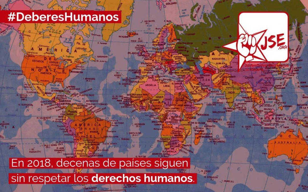 JSE considera que algunos de los logros de la Declaración Universal de los Derechos Humanos están en peligro.