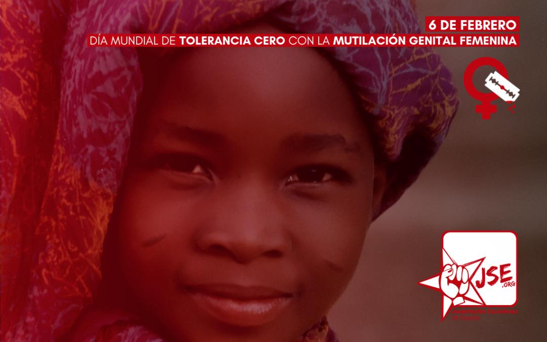 Juventudes Socialistas insta a las administraciones a adoptar un protocolo para prevenir la práctica de la MGF en España.