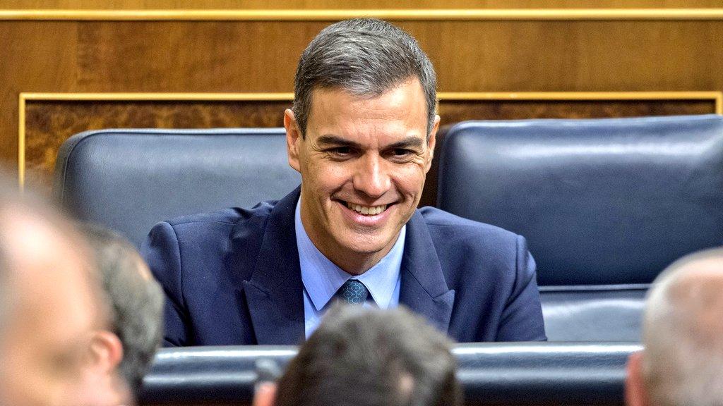 """JSE traslada su apoyo a Sánchez en la  decisión de adelantar las elecciones: """"España debe seguir avanzando por la senda del progreso""""."""