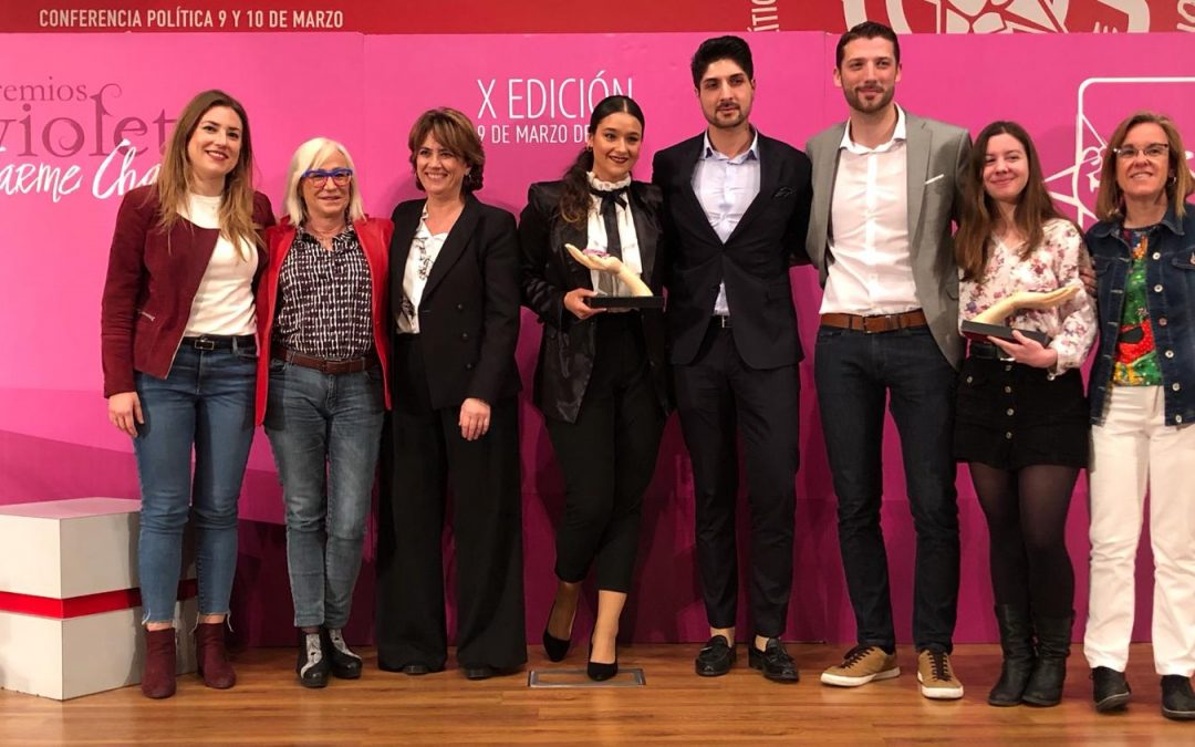 Juventudes Socialistas de España celebró la décima edición de los Premios Violeta-Carme Chacón.