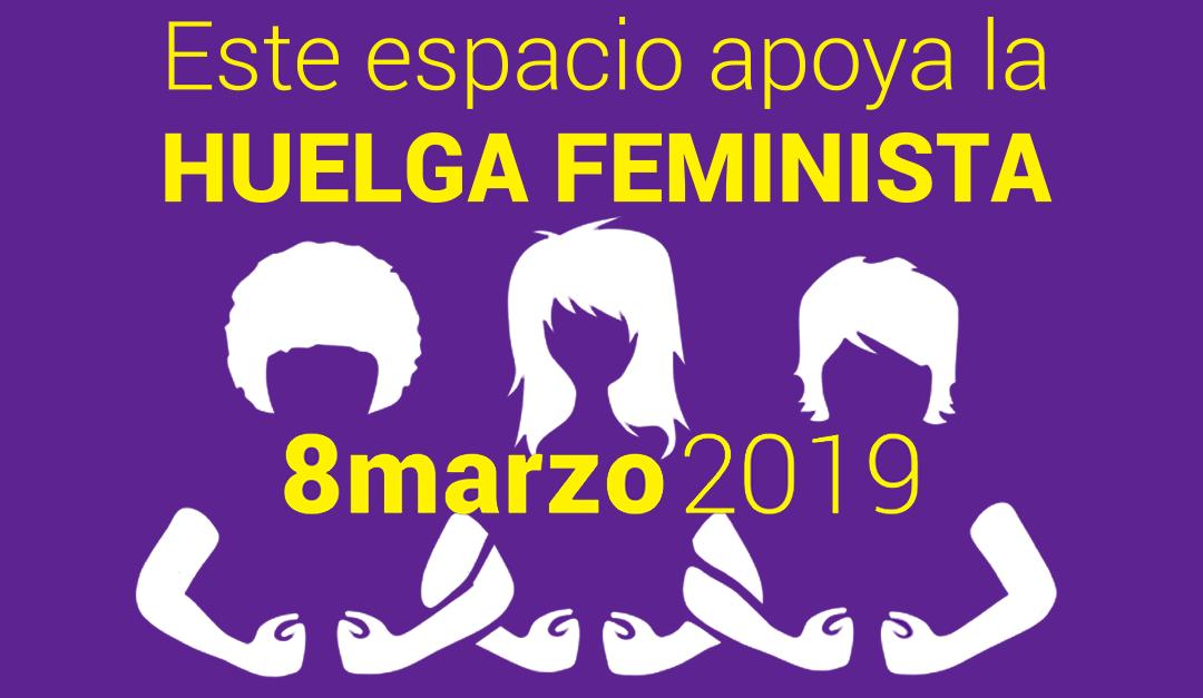 Manifiesto 8M. Nos sumamos a la huelga feminista