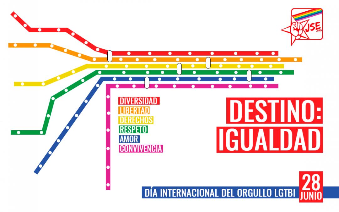 Manifiesto JSE Orgullo LGTBI 2019
