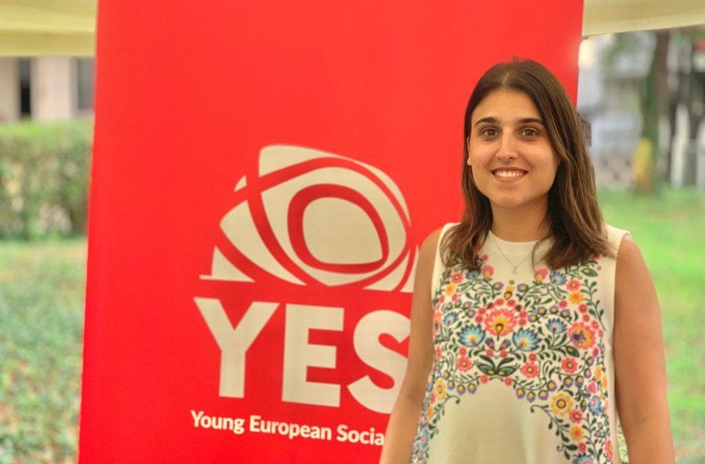 La española Alicia Homs, elegida nueva Presidenta de las Juventudes Socialistas europeas.
