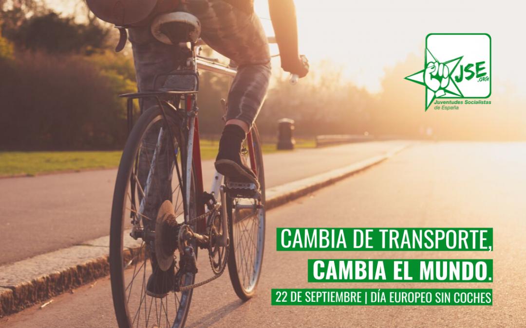 JSE apuesta por el fomento de los medios de transporte sostenibles en el Día Europeo Sin Coches.