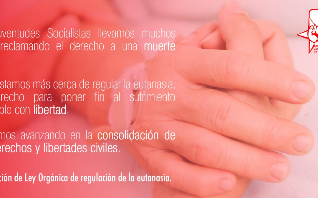 """JSE aplaude la tramitación de la Ley de regulación de la eutanasia: """"seguimos avanzando en derechos y libertades civiles""""."""