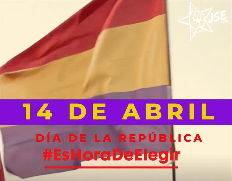 Juventudes Socialistas de España reclama una jefatura de Estado elegida democráticamente por la ciudadanía.
