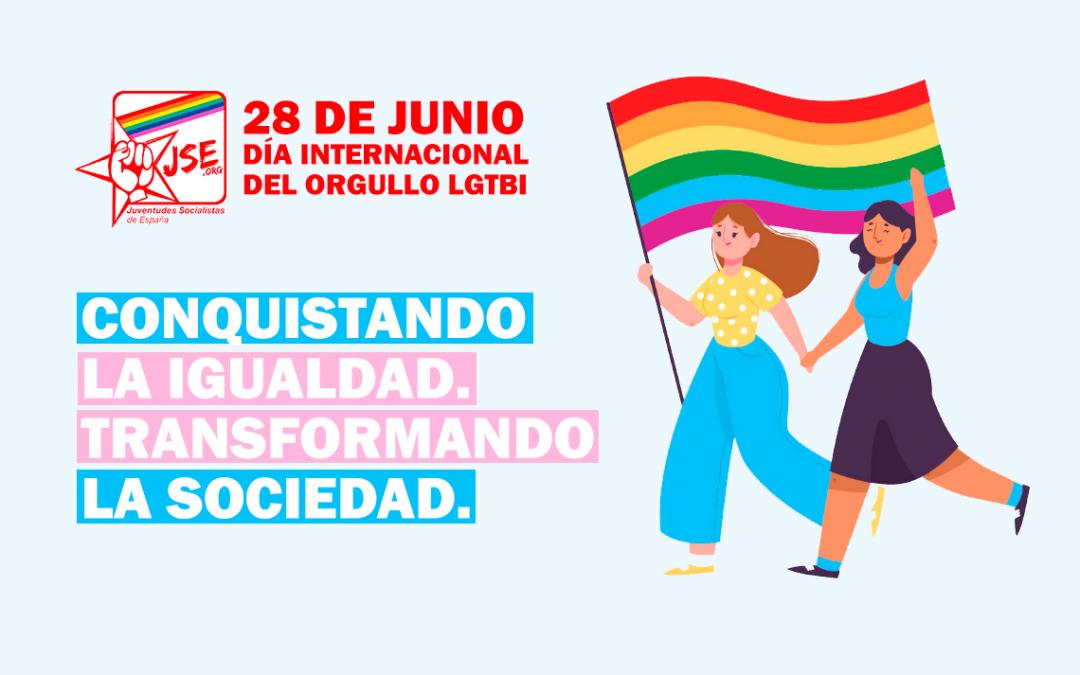 Manifiesto JSE Día del Orgullo LGTBI 2020