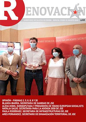 Renovación 48 - La revista digital mensual de Juventudes Socialistas de España