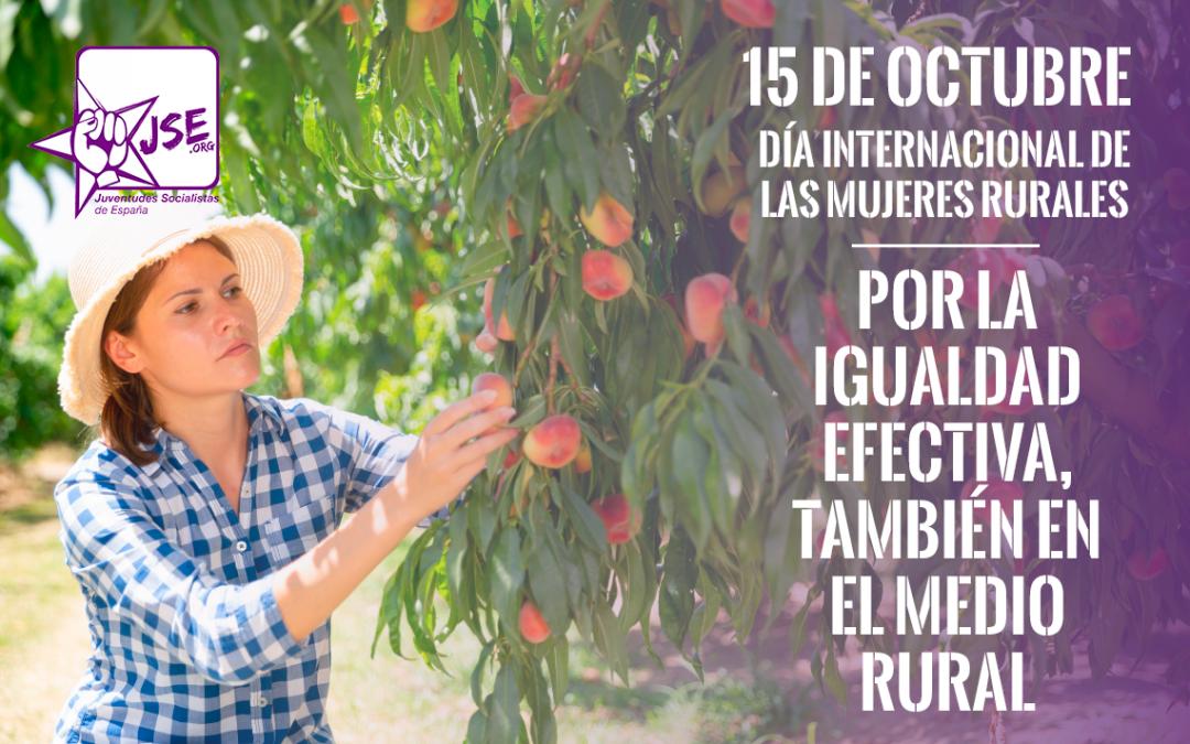 Día de las Mujeres Rurales: por la igualdad efectiva, también en el medio rural