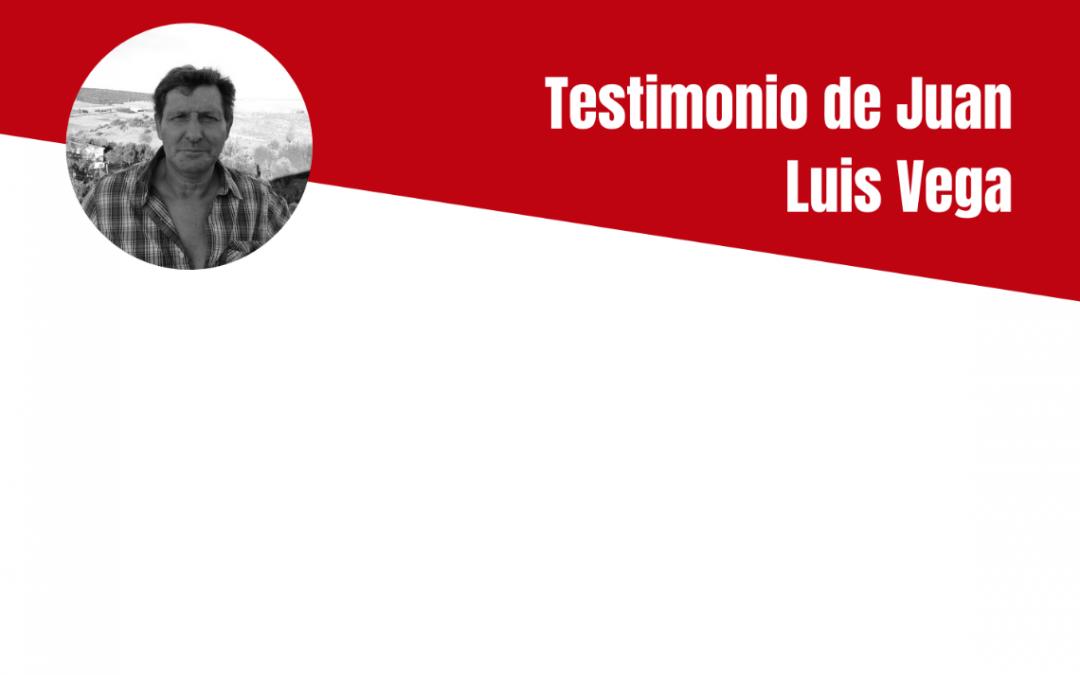 Testimonio de Juan Luis Vega