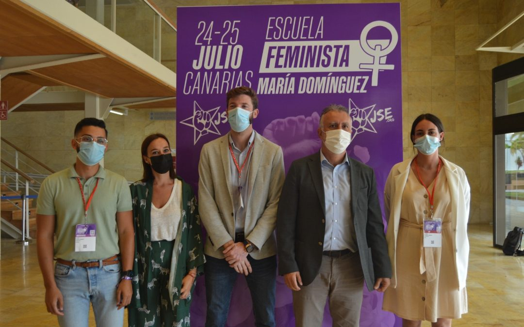 """JSE celebra su Escuela Feminista """"María Domínguez"""" en Las Palmas de Gran Canaria."""